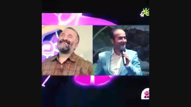خاطره خنده دار استخر مهران رجبی و حسن ریوندی-اینستاگرام