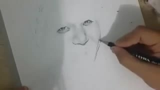 Jungkook (BTS) Speed Drawing