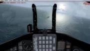 تصاویری دیدنی از فرود بر روی ناو شبیه ساز پرواز