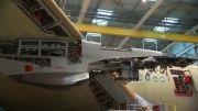 نصب موتور رولز رویس اولین ایرباس A350