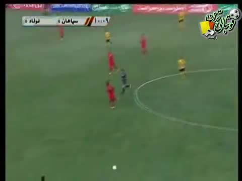 سپاهان - فولاد (خلاصه) - لیگ 14