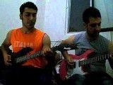 گیتار الکتریک - اجرای آهنگ disconnect