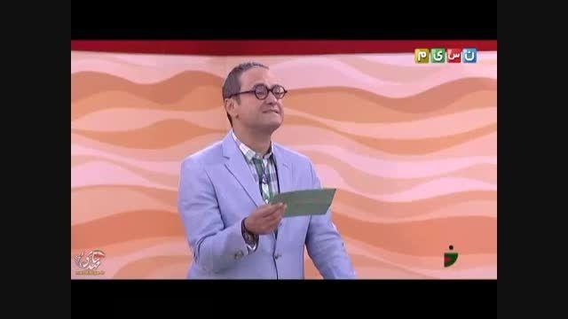 برنده شدن جناب خان در مسابقه بر عکس گفتن جملات