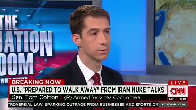 صحبت های سناتور دیوانه آمریکایی علیه ایران