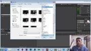طریقه ایمپورت کردن فایل ها در افتر افکت cc2014
