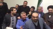 عکس دسته جمعی پیشکسوتان پرسپولیس در کنار سید حسن خمینی/