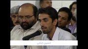 شعرخوانی حسین جنتی در محضر رهبر انقلاب