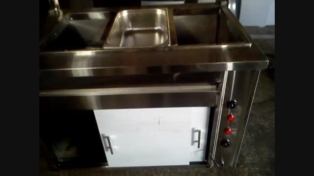 کانترگرم تجهیزات آشپزخانه صنعتی رستوران فست فود