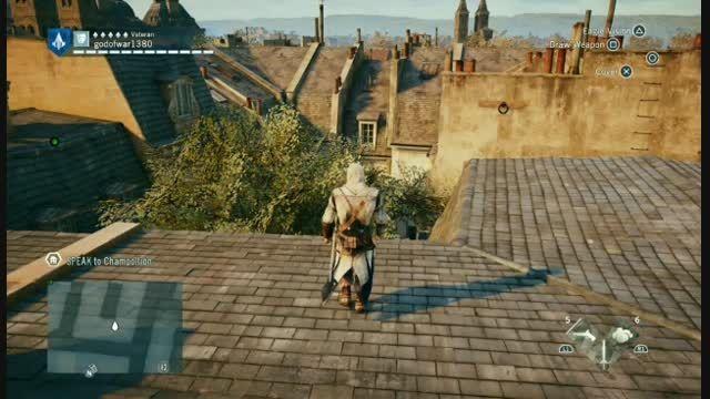 کیفیت و گرافیک بازی assassins creed unity در ps4