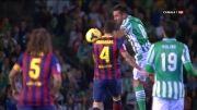 رئال بتیس 1 - 4 بارسلونا | صحنه اهسته خلاصه بازی