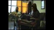 سنتور نوازی زیبا - هم نوازی هدیه لشگری و استاد پرنیا