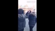 بابای دختره رو در آورد با اون ضرباتش