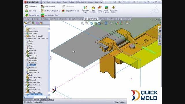 آموزش نرم افزار 3DQuickMold