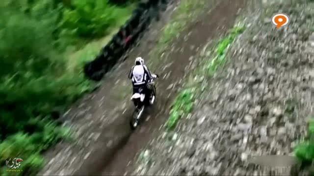 هیجان انگیز ترین و خطرناکترین مسابقه موتورسواری
