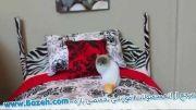 آموزش ساخت تخت خواب 12 اینچی برای عروسک