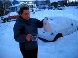 یخ زدن آب جوش!!