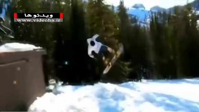 لحظات جذاب و دیدنی در ورزش اسنوبرد