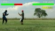 Mortal Kombat In Real Life