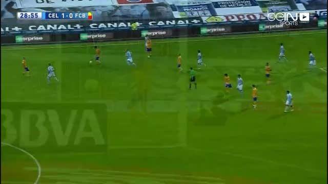 سلتاویگو 4 بارسلونا 1 ، خلاصه بازی (با کیفیت خوب)