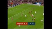 گل اول رئال مادرید 1 - لیورپول 0 (کریستیانو رونالدو)
