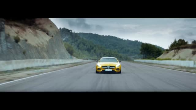 Dream car. The Mercedes-AMG GT - مرسدس بنز آ ام گ جی تی