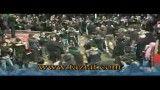خروج هیئت امام حسین علیه السلام از میدان تعزیه روستای نشلج - تاسوعا 1391