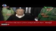 نخستین فیلم از رئیس جمهور عراق در انتخابات