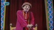 سیاه بازی استاد سعدی افشار در سریال در چشم باد
