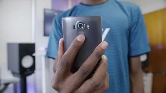 بررسی گوشی LG G4