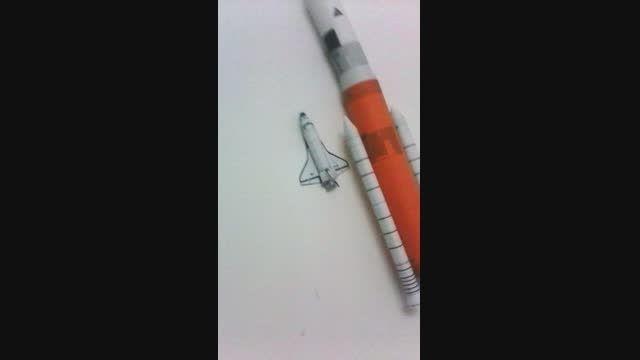 ساخت موشک مدل با کاغذ