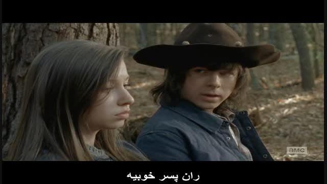 "The Walking Dead قسمت 15 از فصل 5 "" پارت دوم """
