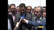 گزارش خبری سفر فرماندار شیراز به روستاهای ارژن