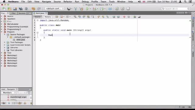 ۲۲- مولد اعداد تصادفی در جاوا Java