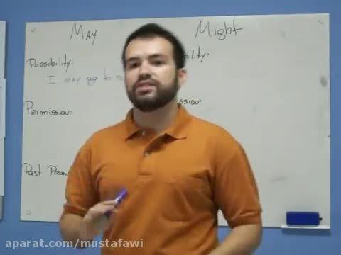 آموزش گرامر زبان انگلیسی (تفاوت May و Might)
