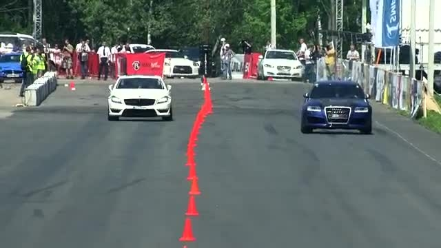 Audi RS6 Gorilla Racing vs CLS 63 AMG vs Gallardo TT To