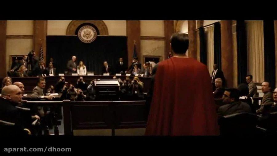 نمایی از پیش نمایش جدید فیلم بتمن علیه سوپرمن ...