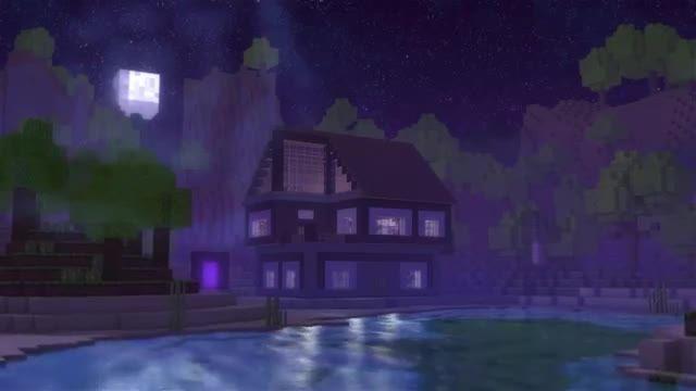 Through The Night A Minecraft Original Music Video HD