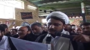 مراسم تشییع پیکر پاک آیت الله محمود محقق دامغانی