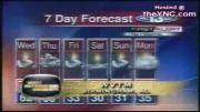 سوتی  باحال در اخبار هواشناسی تلویزیون انگلستان-نگاش کن
