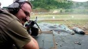 فقط حال کن و ببین و گوش کن! شلیک های بسیار دیدنی با تیربار پی کا PKM
