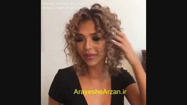 فیلم آموزش ابتکاری فر کردن مو با مداد و فویل
