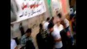 نماهنگ زیبا و دیدنی جشن پیروزی غزه در مناطق مختلف شهرست