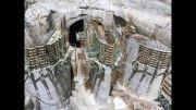 مراحل اجرایی ساخت سد کارون 4 - کلینیک فنی و تخصصی بتن