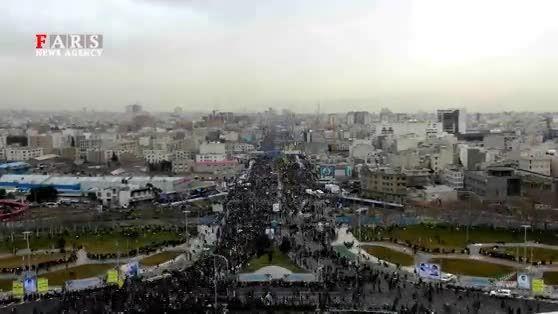کوتاه سی و هفتمین جشن پیروزی انقلاب در ثانیه هایی کوتاه