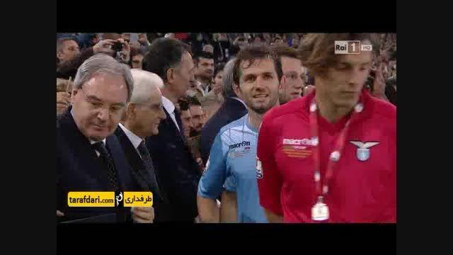 مراسم اهدای مدال و جشن قهرمانی یوونتوس در کوپا ایتالیا