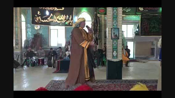 عزاداری انجدان محرم 94 تعزیه حر جواد محمدی