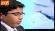 سید طه حسینی ، نفر دوم برنامه اسراء در بخش مصطفی اسماعیل