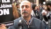 تظاهرات در شهرهای مختلف اروپا در روز همبستگی با کوبانی