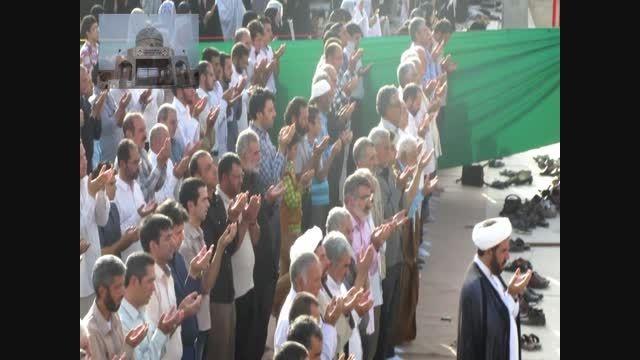 نماز عید فطر 94 شهیدستان چاهملک