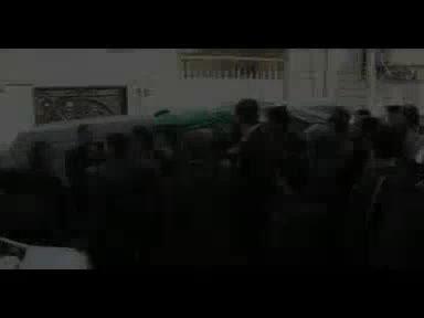 تشیع پیکر پاک سردار شهید حاج اصغر احمدی